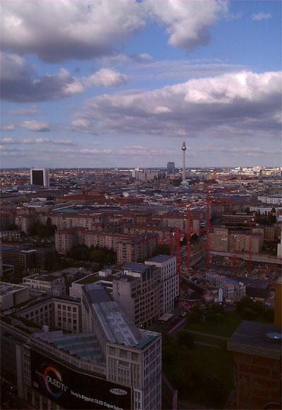 Panoramapunkt Aussicht
