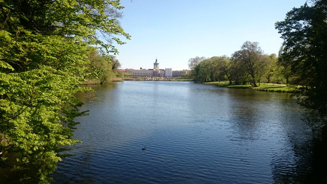 Schloss Charlottenburg Wasserblick