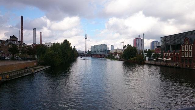 Berlin Wasser Richtung City