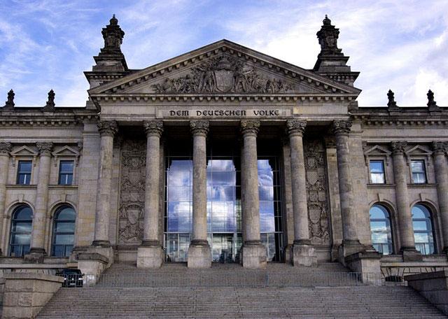Eingang Reichstagsgebäude