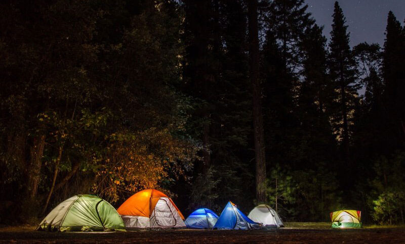 Camping in Berlin