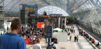 Prospektstand Messe Berlin