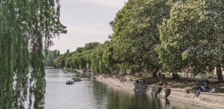 Landwehrkanal Berlin Frühling